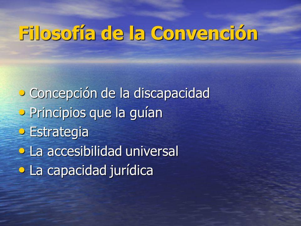 Filosofía de la Convención
