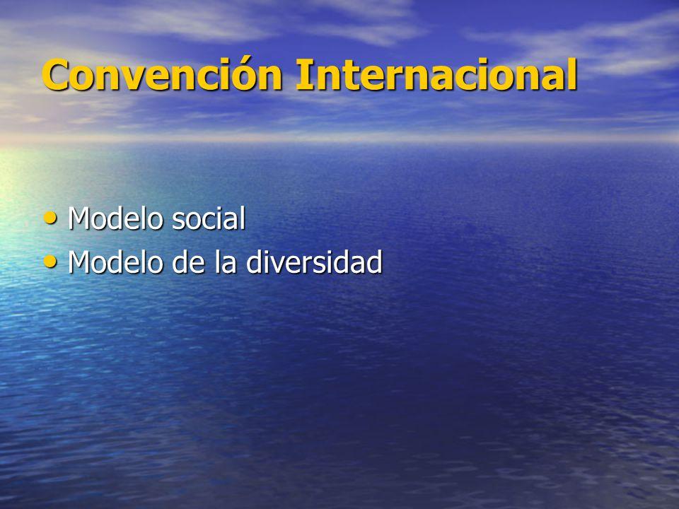 Convención Internacional