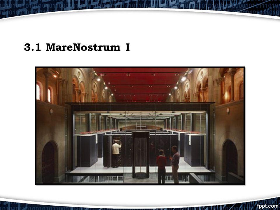 3.1 MareNostrum I