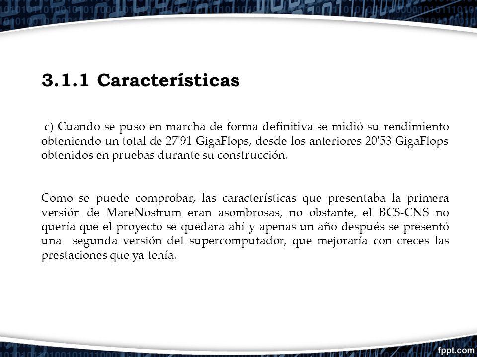 3.1.1 Características