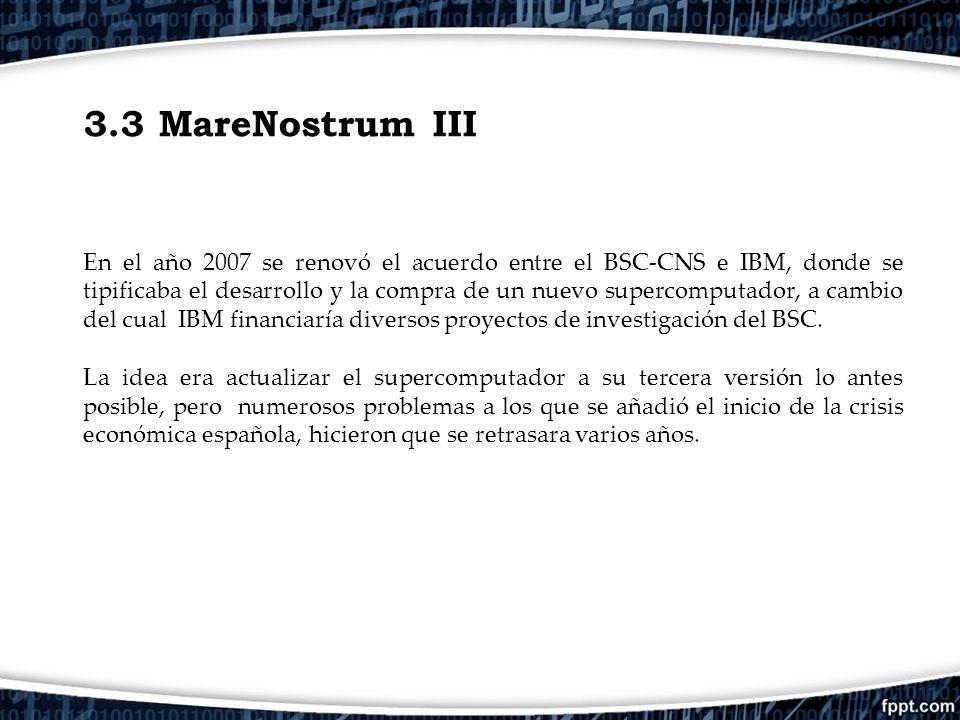 3.3 MareNostrum III