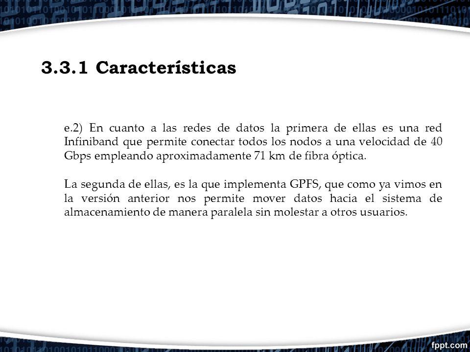 3.3.1 Características
