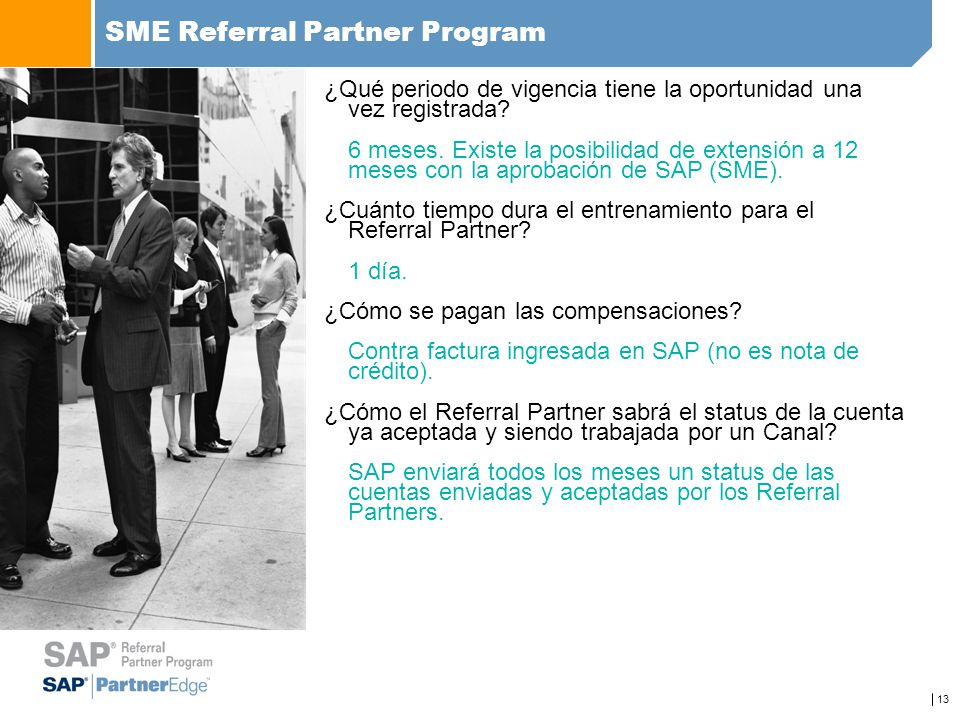 SME Referral Partner Program