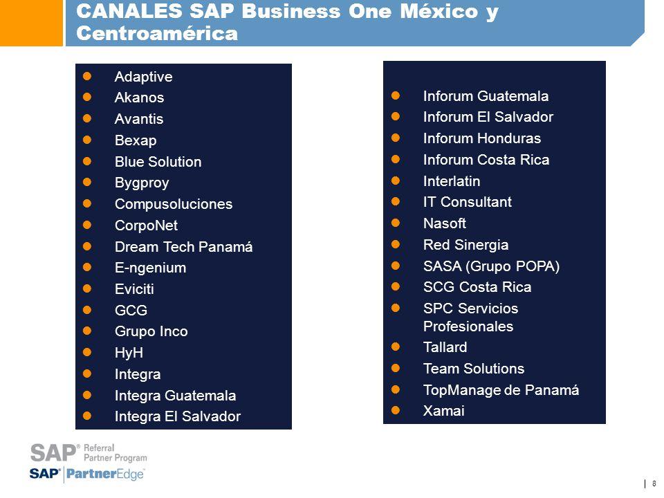 CANALES SAP Business One México y Centroamérica