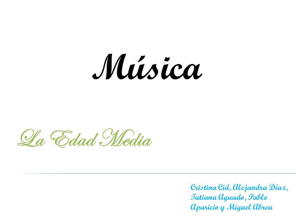 Música La Edad Media Cristina Cid, Alejandra Díaz, Tatiana Aguado, Pablo Aparicio y Miguel Abreu