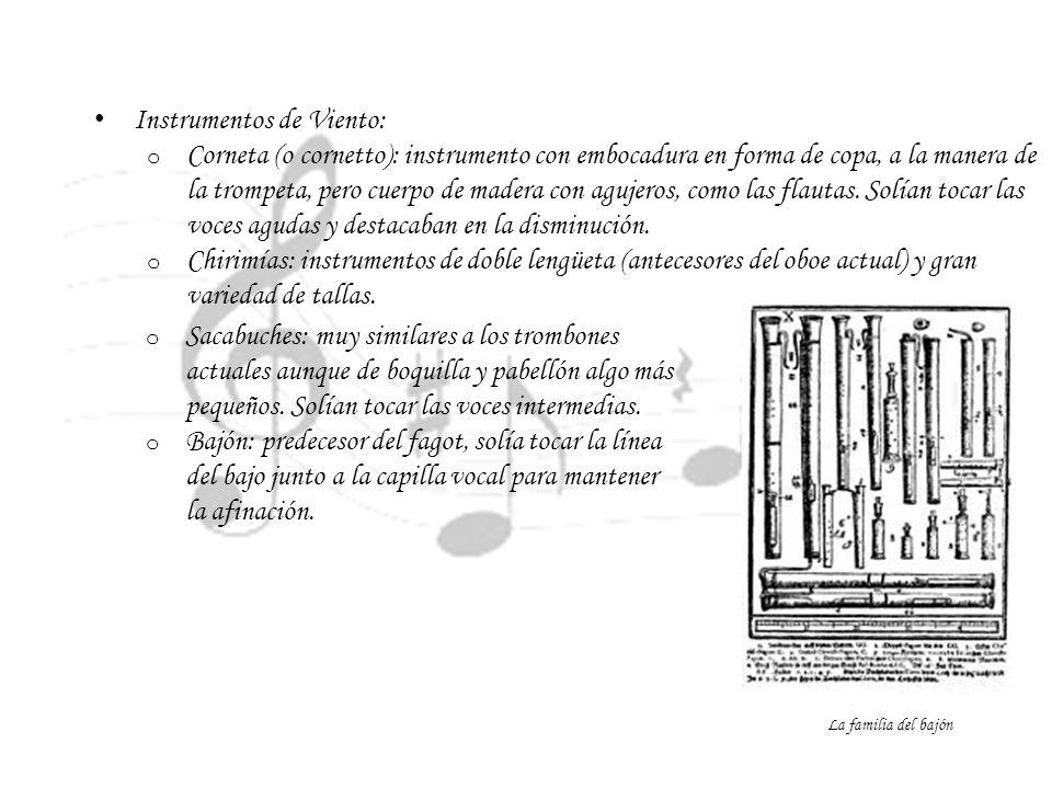 Instrumentos de Viento:
