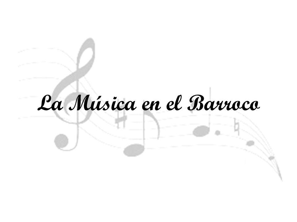 La Música en el Barroco