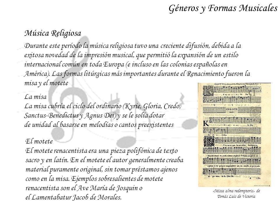 «Missa alma redemptoris» de Tomás Luis de Victoria