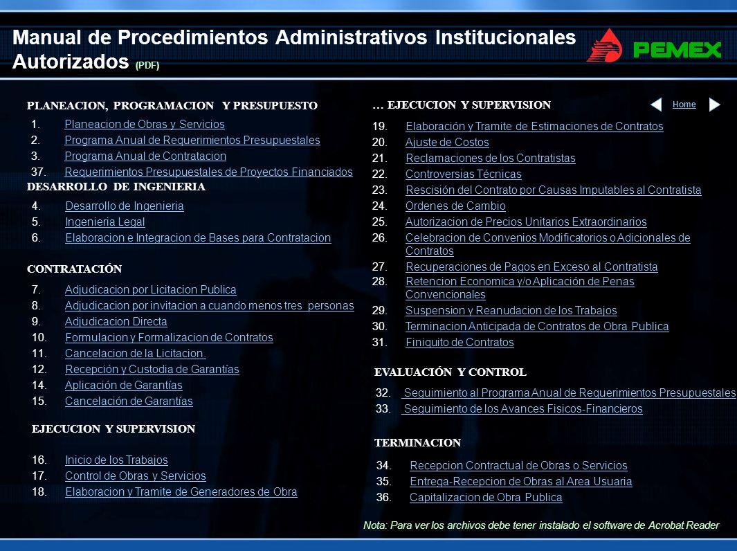 Manual de Procedimientos Administrativos Institucionales Autorizados (PDF)