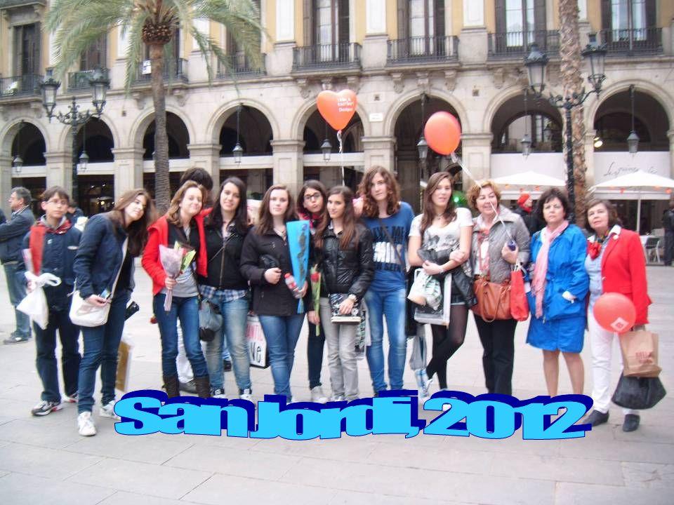 San Jordi, 2012