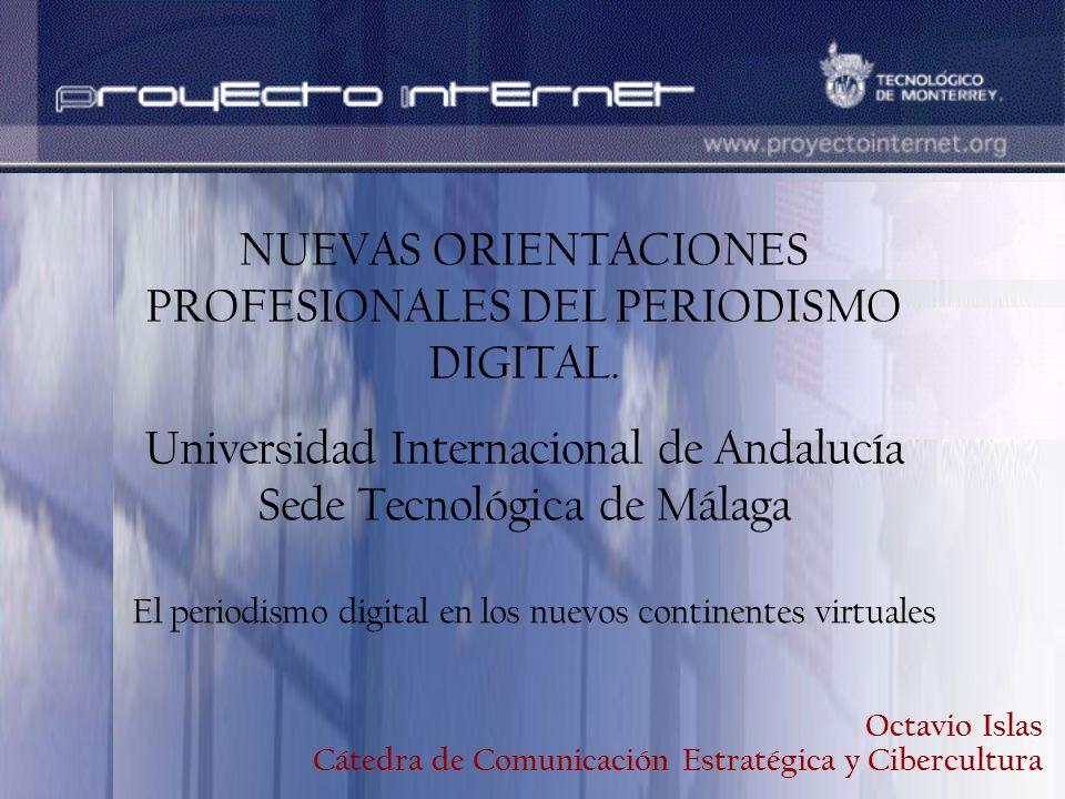 NUEVAS ORIENTACIONES PROFESIONALES DEL PERIODISMO DIGITAL.