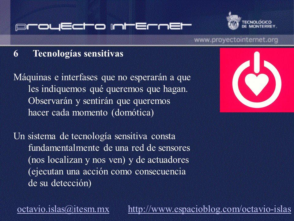Tecnologías sensitivas