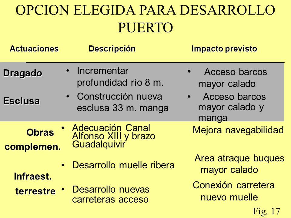 OPCION ELEGIDA PARA DESARROLLO PUERTO
