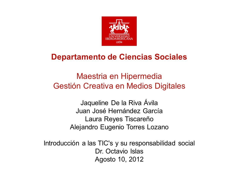 Departamento de Ciencias Sociales