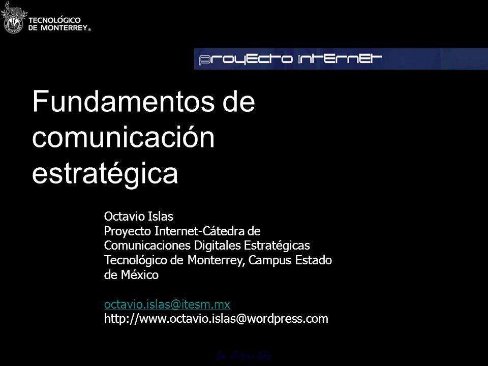 Fundamentos de comunicación estratégica