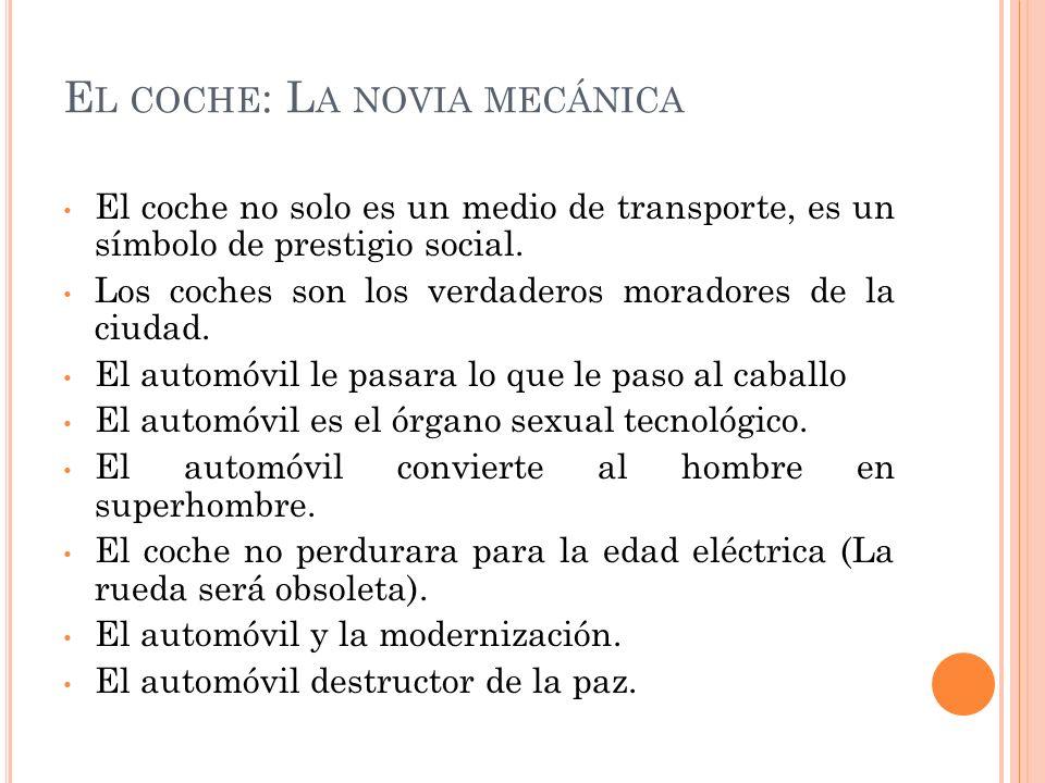 El coche: La novia mecánica