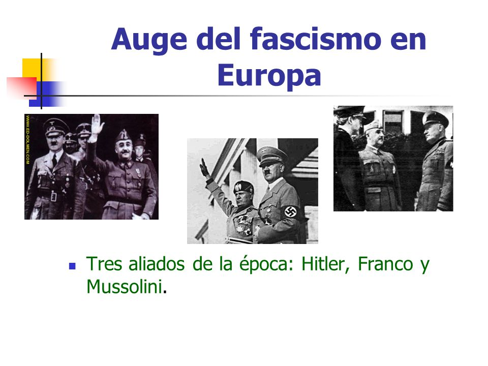 Auge del fascismo en Europa
