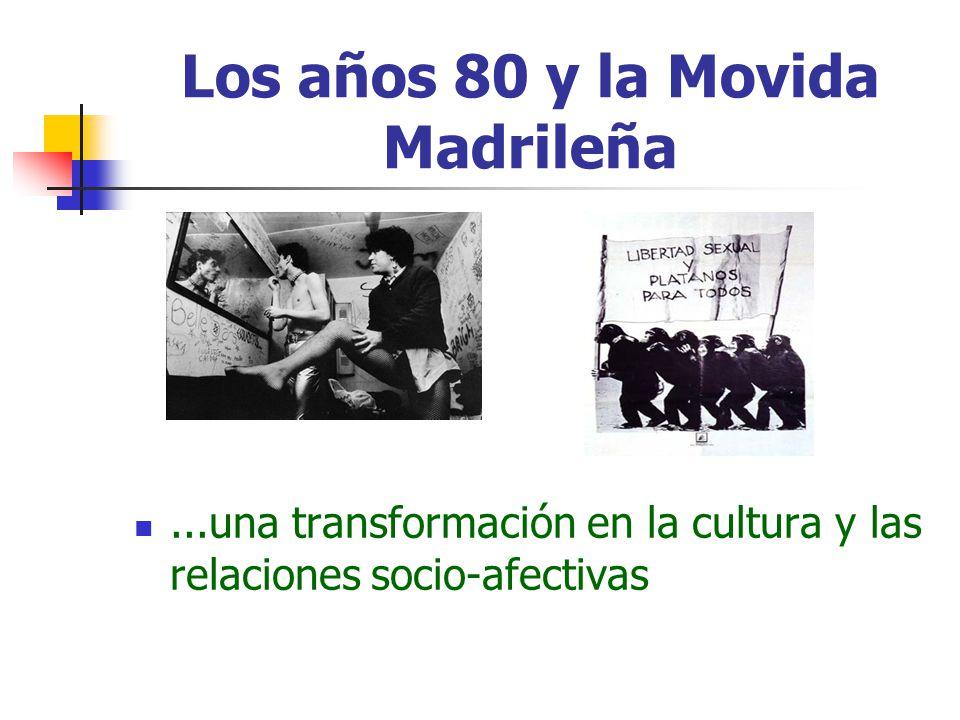 Los años 80 y la Movida Madrileña