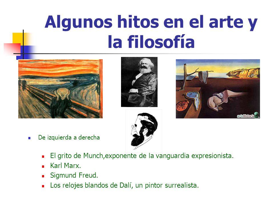 Algunos hitos en el arte y la filosofía