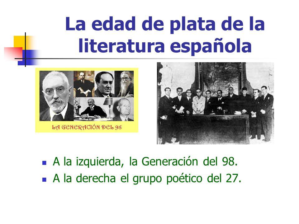 La edad de plata de la literatura española