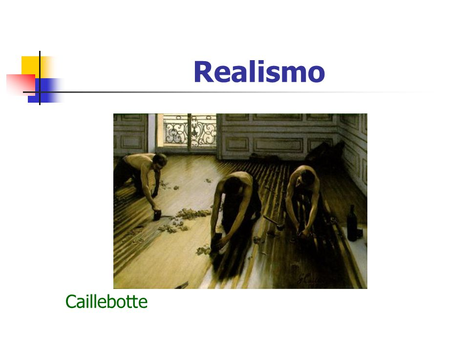 Realismo Caillebotte Caillebote