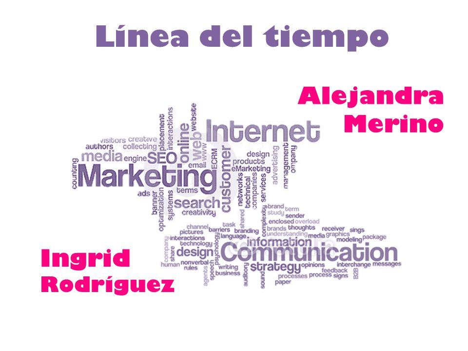 Línea del tiempo Alejandra Merino Ingrid Rodríguez