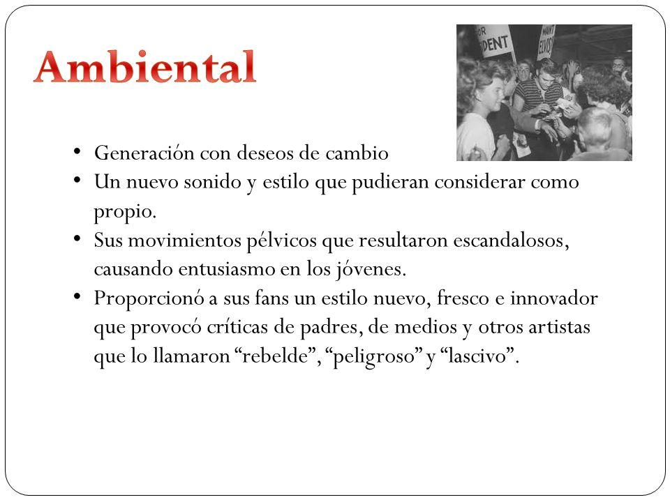 Ambiental Generación con deseos de cambio