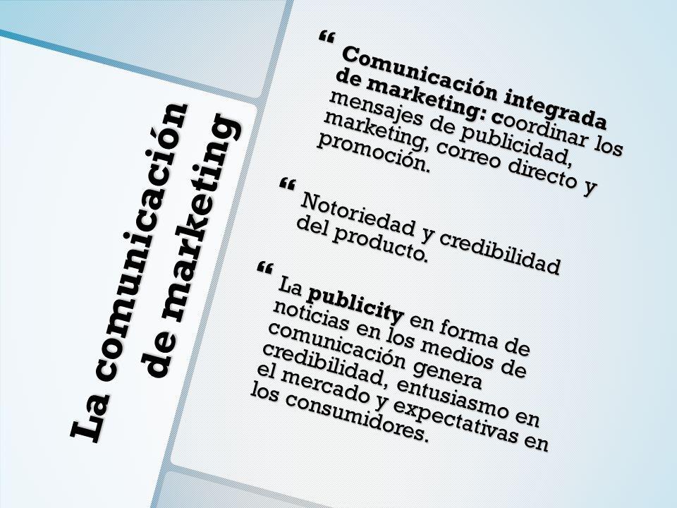 La comunicación de marketing