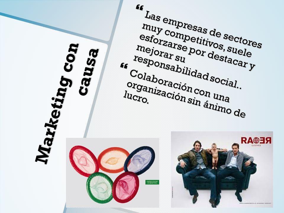 Las empresas de sectores muy competitivos, suele esforzarse por destacar y mejorar su responsabilidad social..