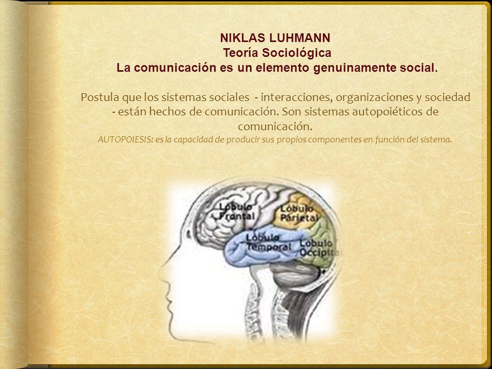 La comunicación es un elemento genuinamente social.