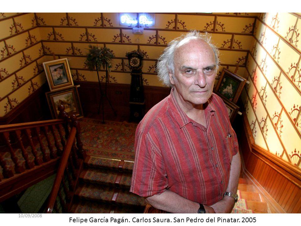 Felipe García Pagán. Carlos Saura. San Pedro del Pinatar. 2005