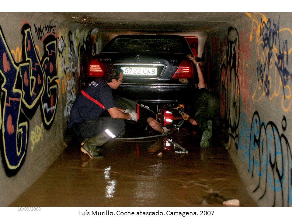 Luís Murillo. Coche atascado. Cartagena. 2007