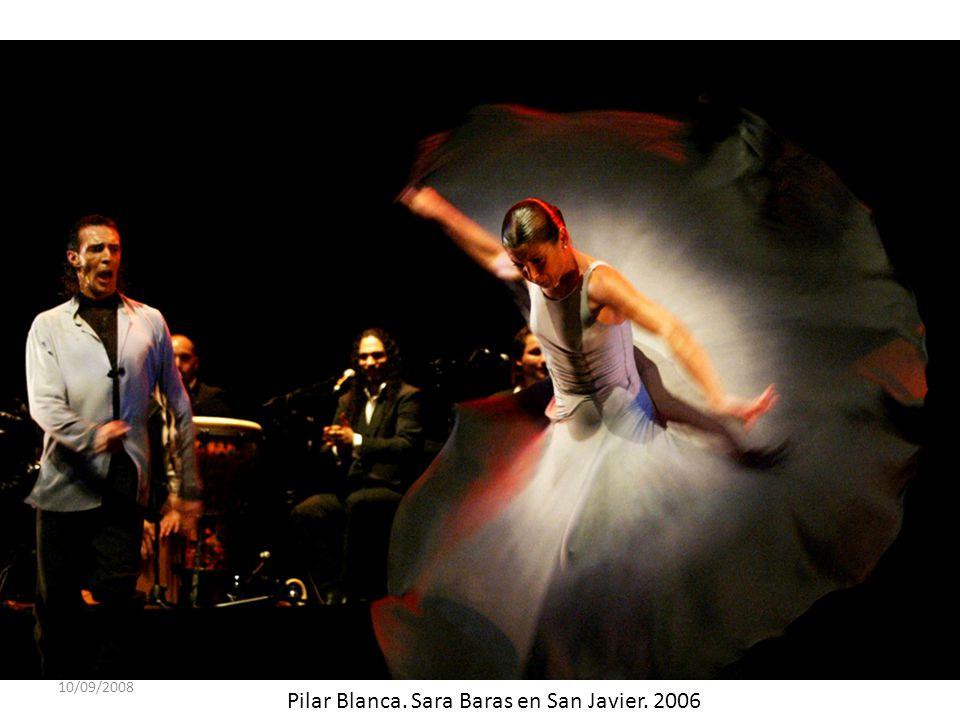 Pilar Blanca. Sara Baras en San Javier. 2006
