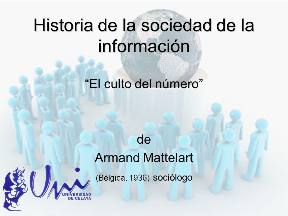 Historia de la sociedad de la información