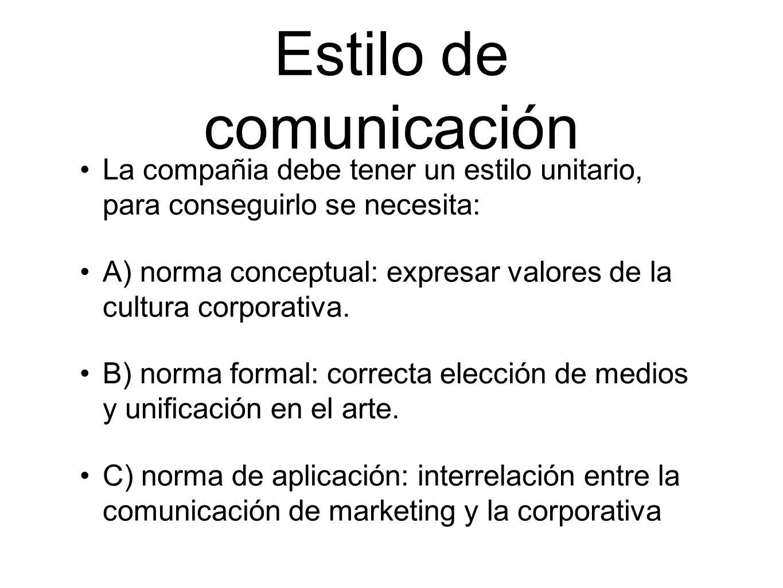 Estilo de comunicación