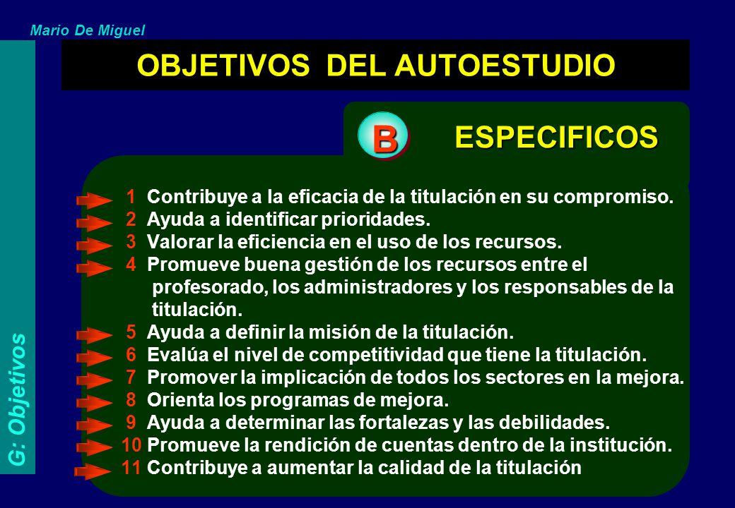 Mario De Miguel PRINCIPALES CRITERIOS A UTILIZAR EN LA FORMULACIÓN DE LOS JUICIOS DE VALOR. 1.