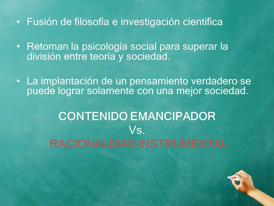 CONTENIDO EMANCIPADOR