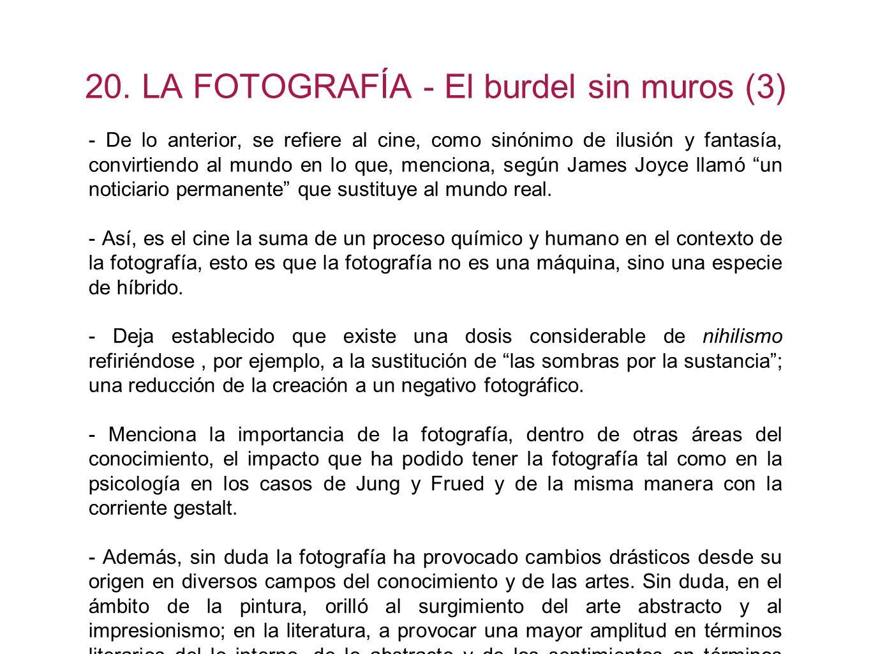 20. LA FOTOGRAFÍA - El burdel sin muros (3)