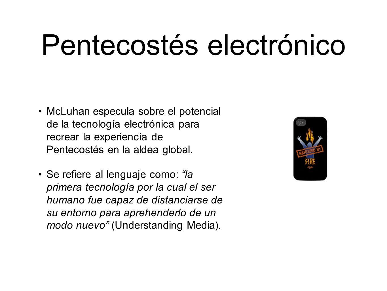 Pentecostés electrónico