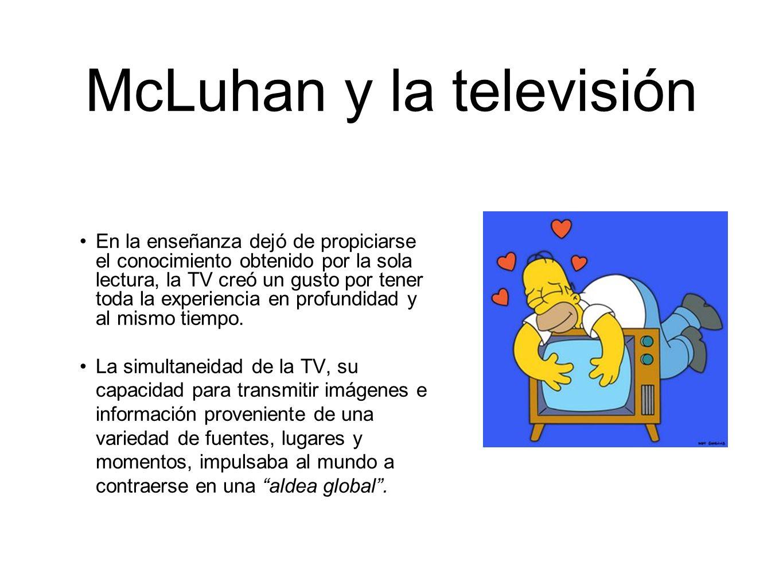 McLuhan y la televisión