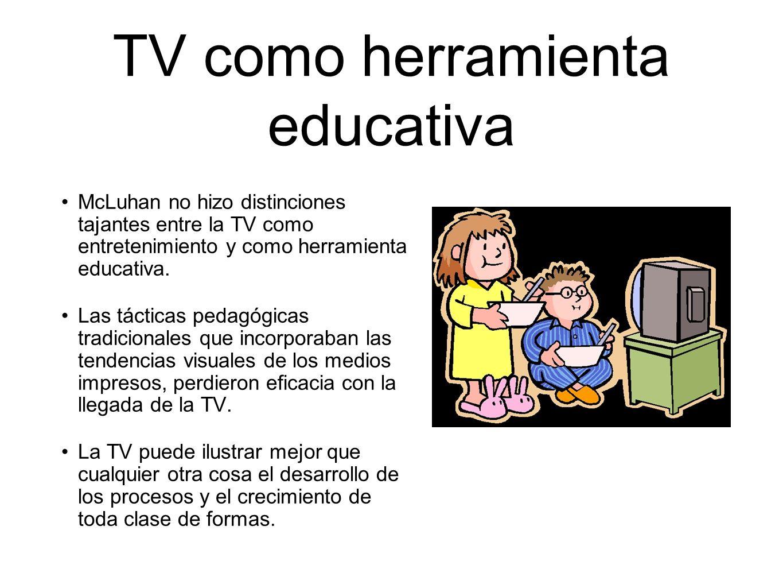 TV como herramienta educativa