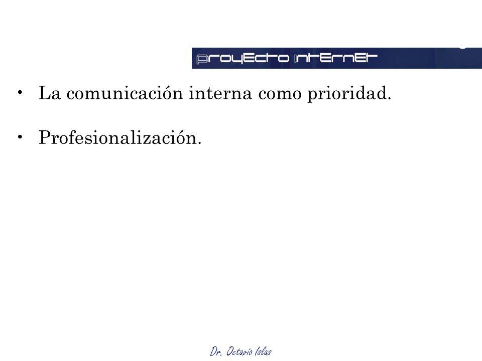 Outsourcing La comunicación interna como prioridad.