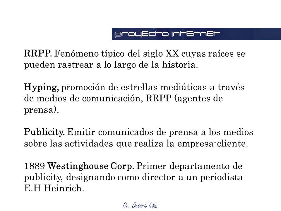 Responsabilidades RRPP. Fenómeno típico del siglo XX cuyas raíces se pueden rastrear a lo largo de la historia.