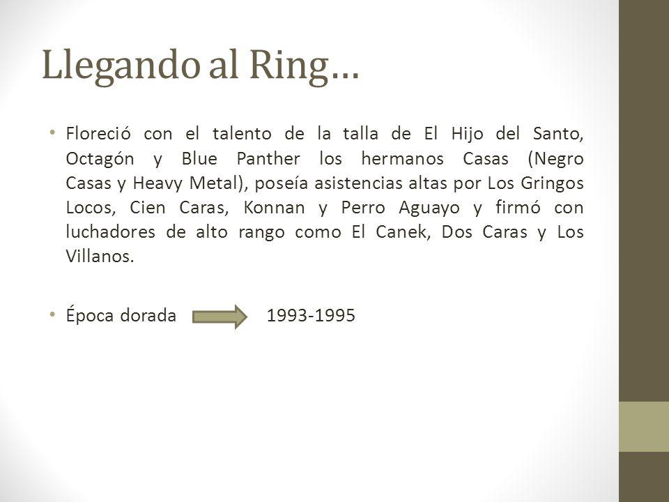 Llegando al Ring…