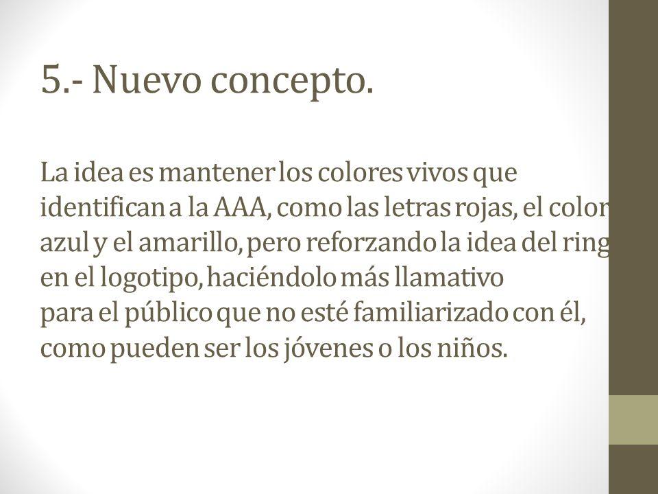 5.- Nuevo concepto.