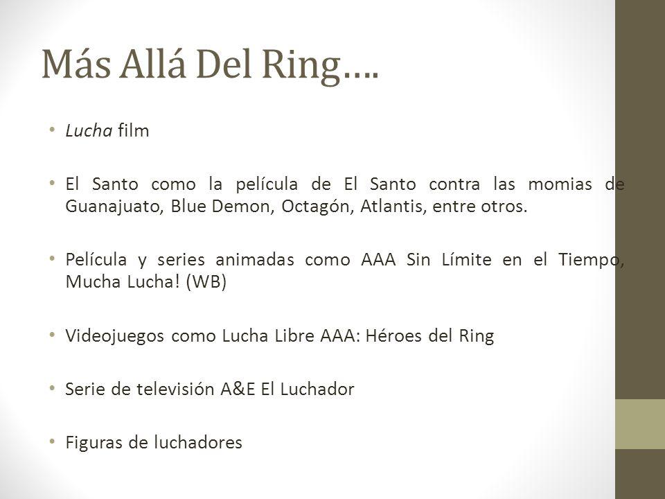 Más Allá Del Ring…. Lucha film