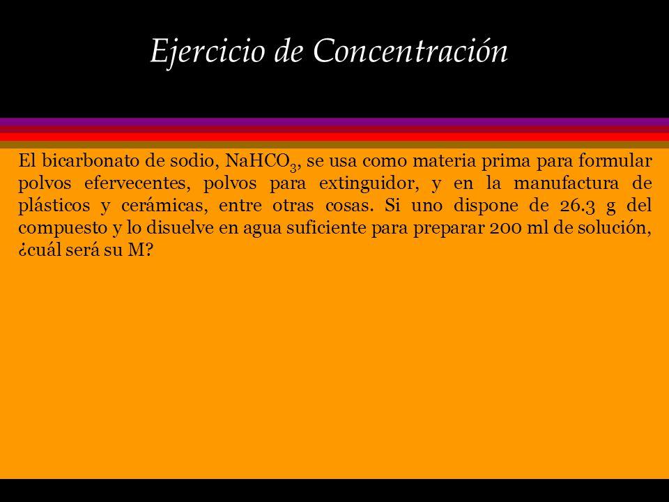 Ejercicio de Concentración
