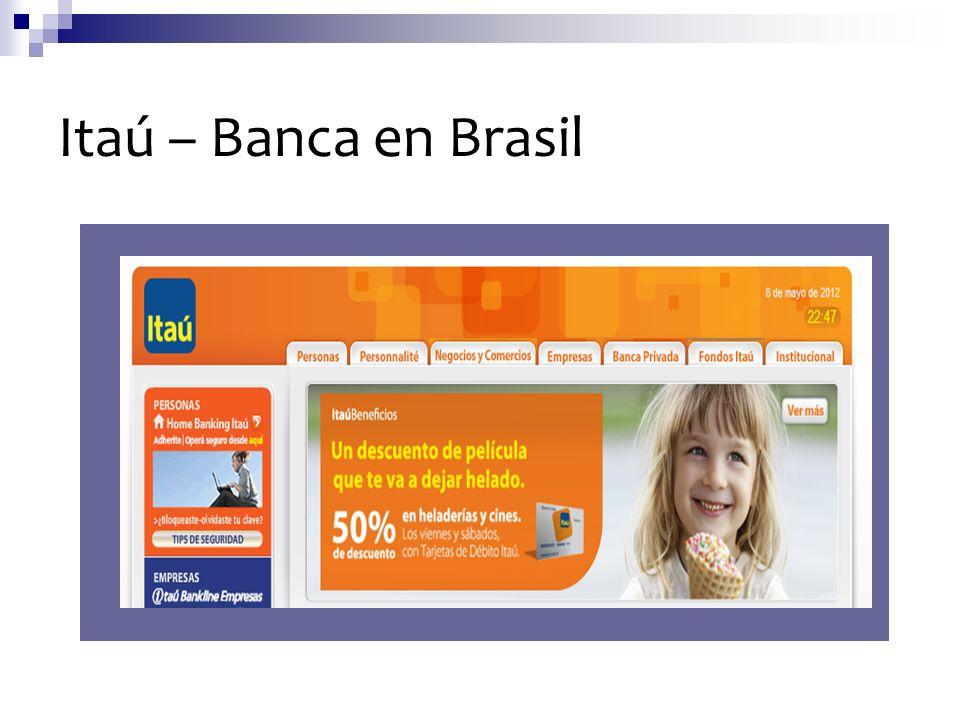 Itaú – Banca en Brasil