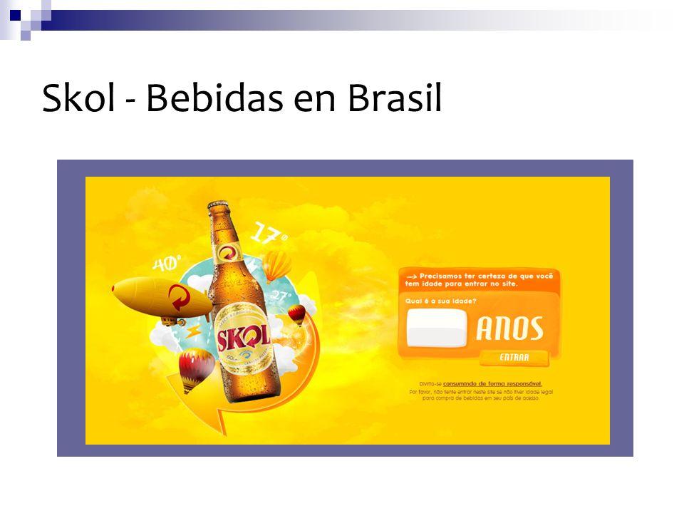 Skol - Bebidas en Brasil