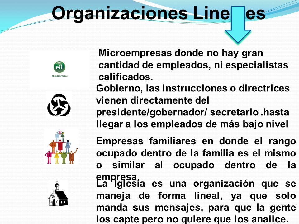 Organizaciones Lineales